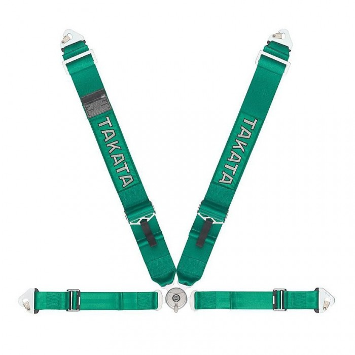 Takata Race 4 Point Harness Snap-On FIA Approved